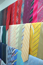 Grande variedade de gravatas