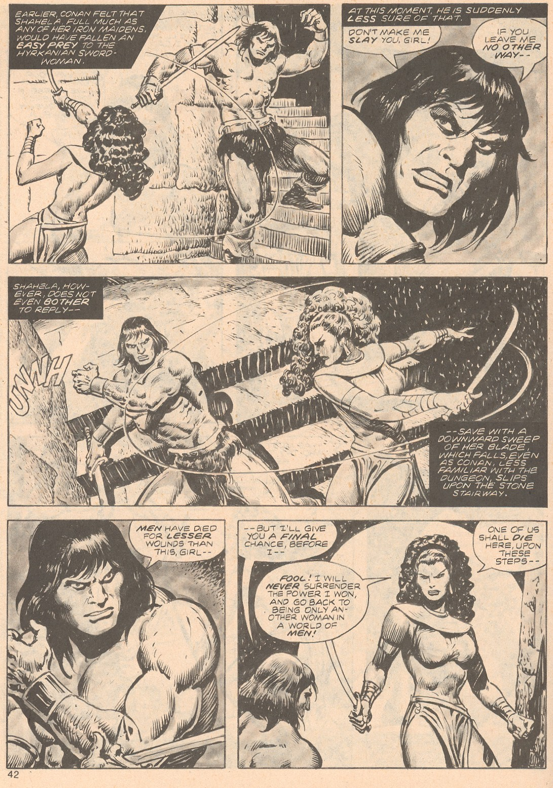 The Savage Sword Of Conan Issue #68 #69 - English 42