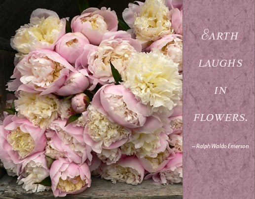 Earth laughs in flowers ...