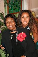 Nicole and Grandmom