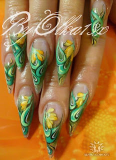 Russian Nail Art Nail Art Designs