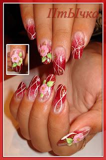 Russian Nail Art