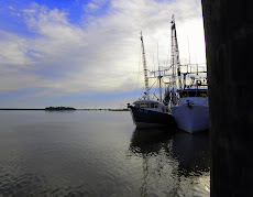 Shrimp boats in Apalach