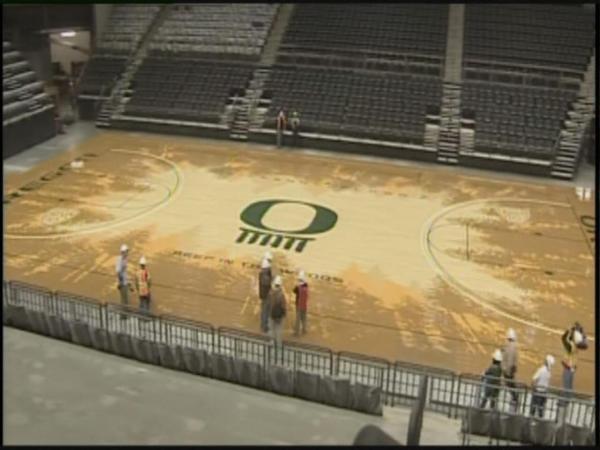 Someone Splooged On Oregonu0027s Basketball Court