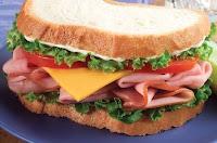 mmmm, ham sandwich