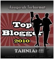 AWARD TOP BLOGGER 2010