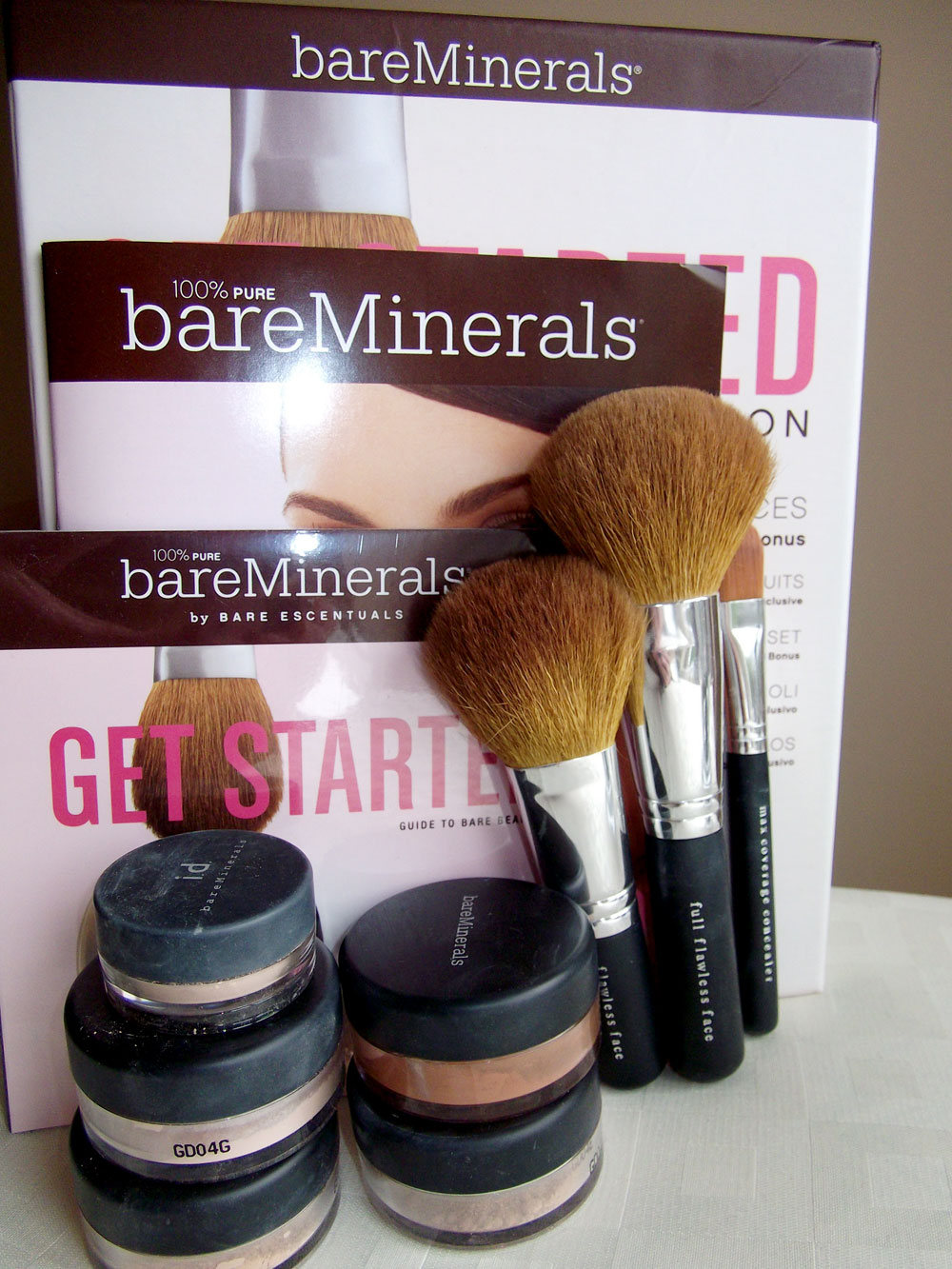 how to make bare minerals not cakey