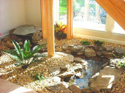 Landscape design gardens in pa nj ct september 2009 for Indoor fish pond design