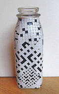 crossword puzzle vase