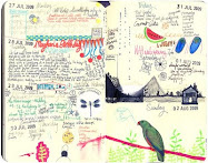 LouLou's Sketchbook Diary