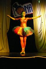 a bailarinha Charlote