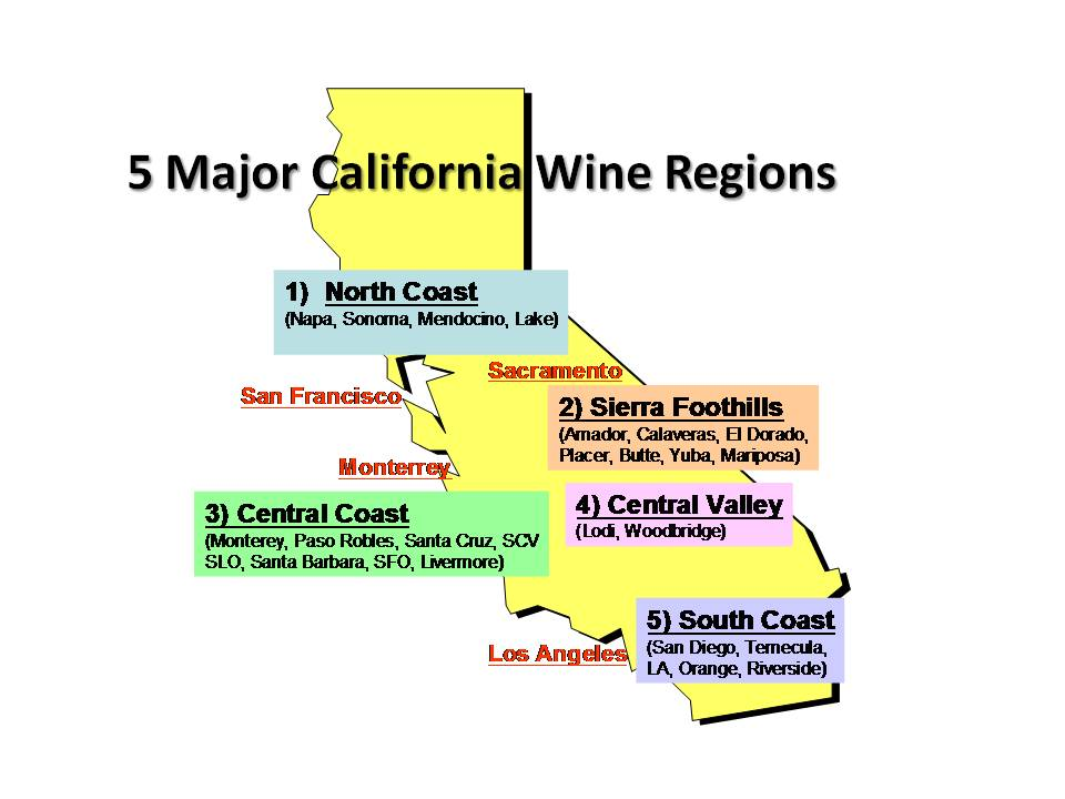 Wine travel stories april 2010 for California wine