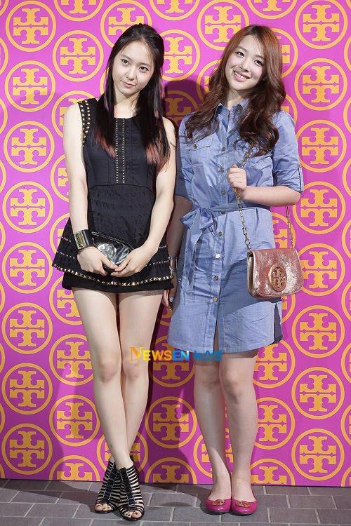 Sulli Dan Krystal Jessica Krystal And Sulli at