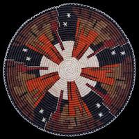 Navajo Monument Valley Mitten Basket