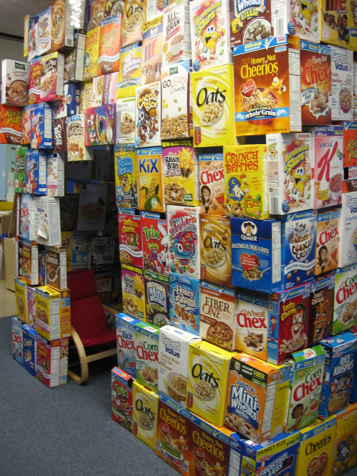 Metamora community preschool my impenetrable cereal box for What type of cardboard are cereal boxes made of