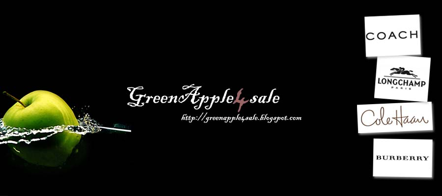 GreenApple4sale: Authentic Branded Bags