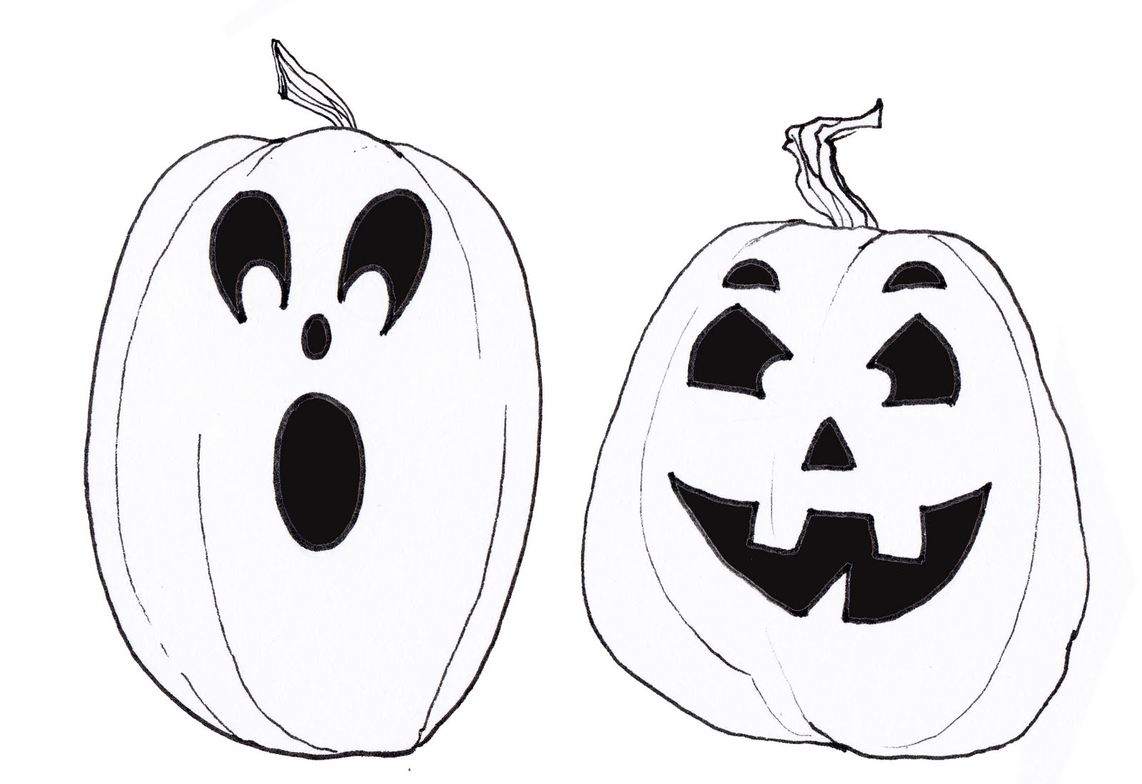 Diaper style memoirs craft me with jack o lanterns for Scary jack o lantern face template