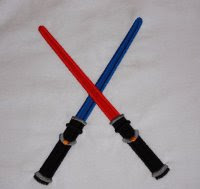 Dueling light sabers