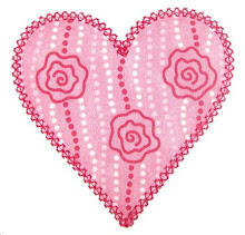 EB Heart applique