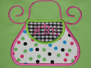 Purse applique
