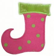 EB whimsical stocking