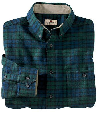 Mr peacock mad for plaid for Black watch plaid flannel shirt