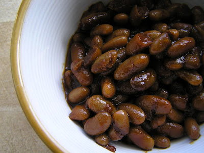 Ginger Beat Slow Cooker Baked Beans