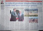 Visita de Sebastián Piñera a Alan García