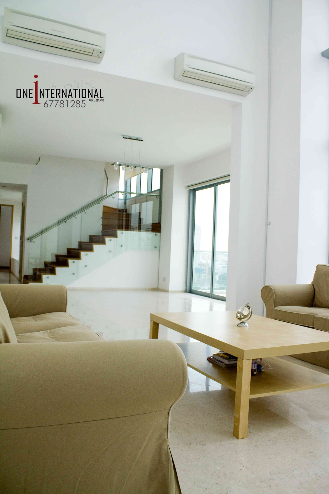 Penthouses in Singapore - by One International: Domain 21
