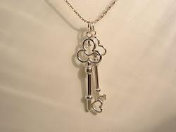 As chaves do coração.