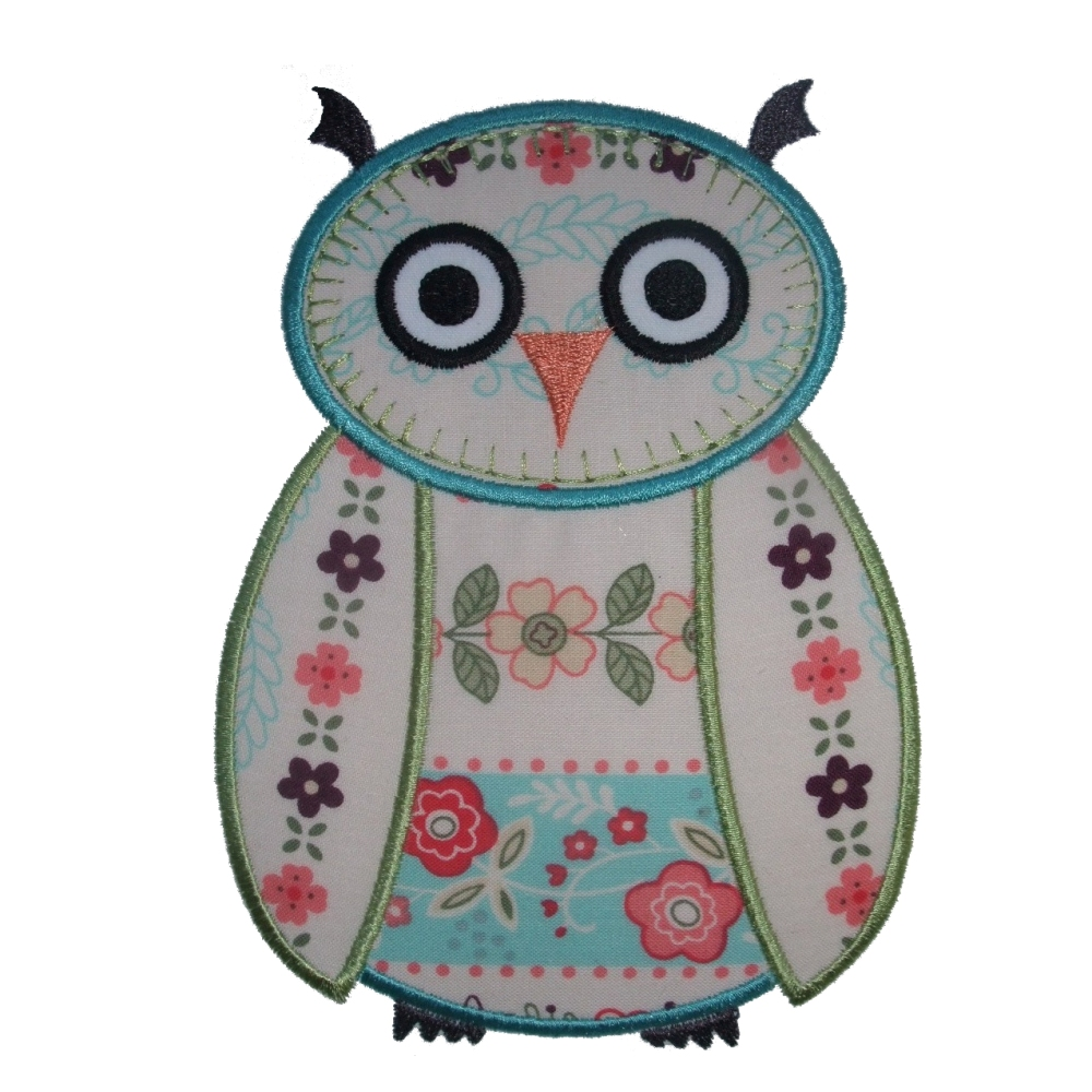 Big Dreams Embroidery WISE OWL Machine Embroidery