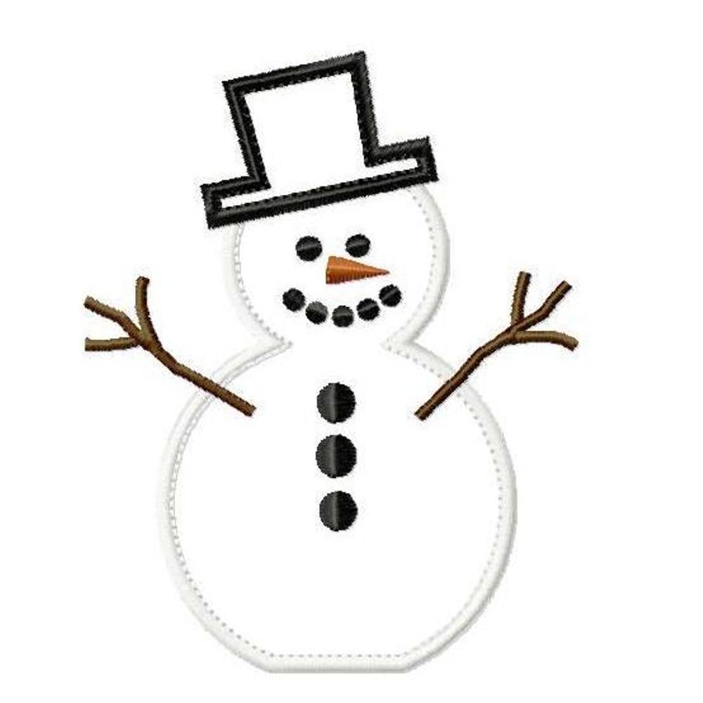 frosty snowman hat template