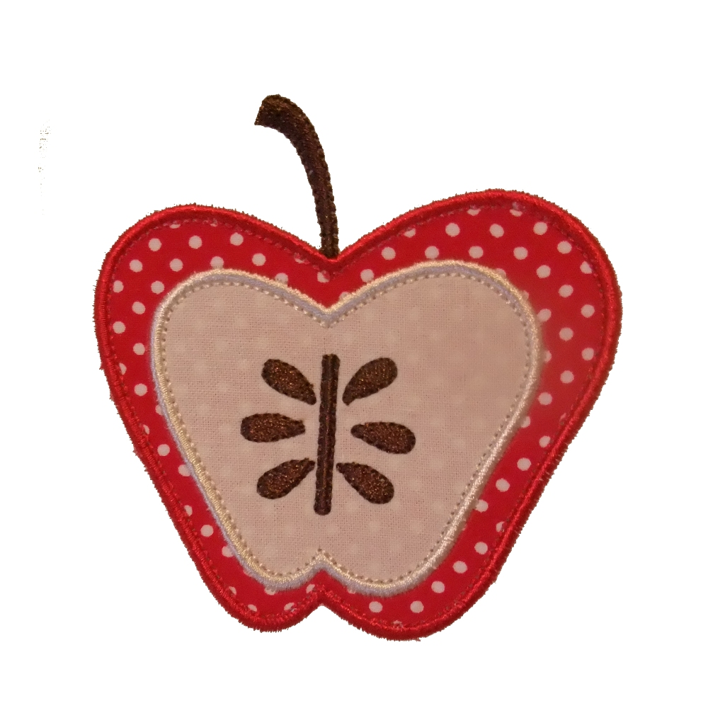 Big dreams embroidery botanical apples machine