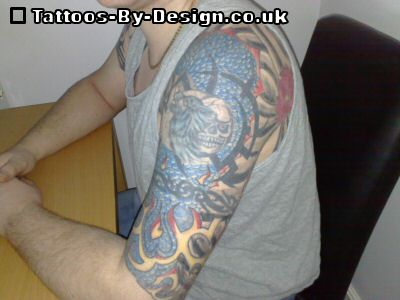 Full Half and Quarter Sleeve Tattoo Designs A Complete Guide