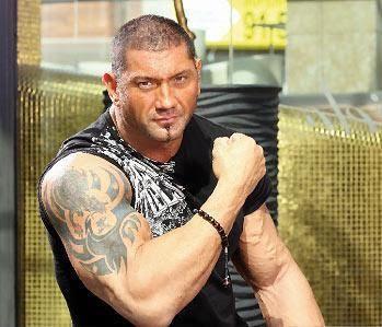 Batista right arm tattoo