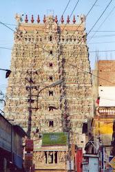 Gopuram del Tempio di Sri Meenakshi a Madurai