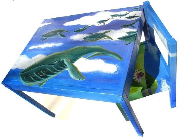 Manufatto decorare un tavolino ikea per bambini - Tavolino per bambini ikea ...