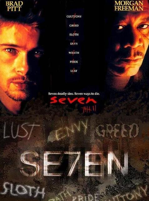 Brad Pitt Seven. This movie stars Brad Pitt and