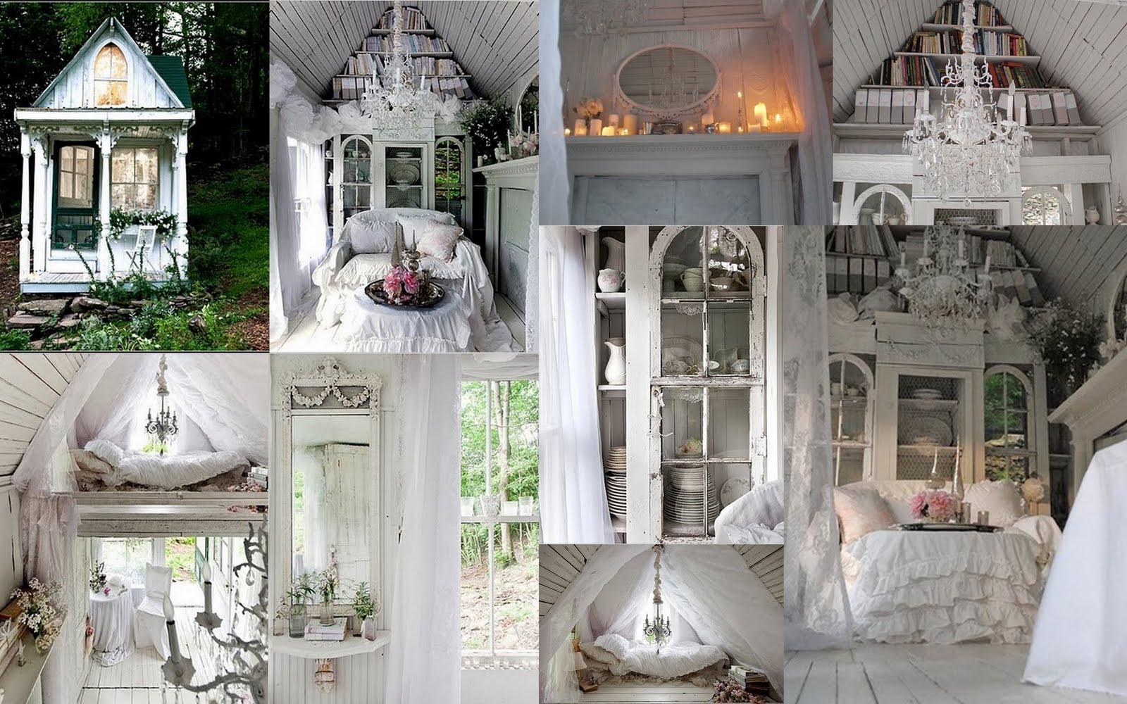 Дизайн дома в шебби шик