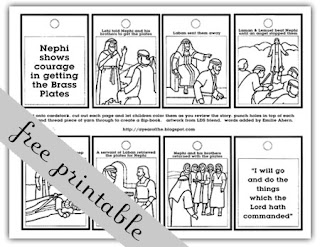 Nephi's Courage Coloring Page http://ayearoffhe.blogspot.com/2011/01/week-01-nephis-courage.html