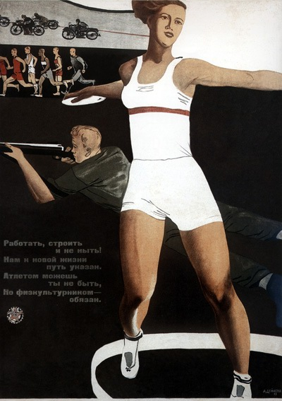 A soviet poster a day