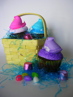Peeps Cupcakes