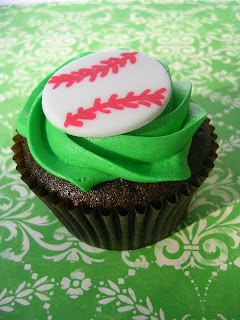 Baseball Cupcakes