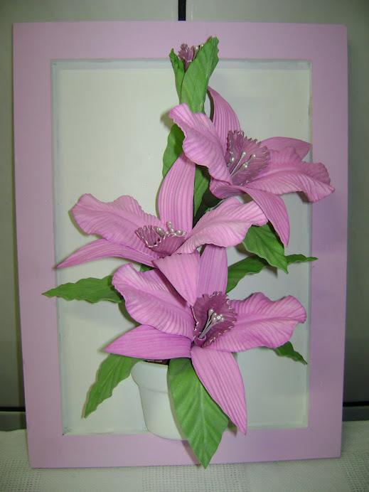 Quadro de Orquídea.