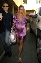 Britney Spears Purple Dresses