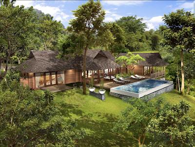 Tropical Pavilion House Design