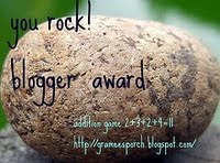 You Rock Blogger Award