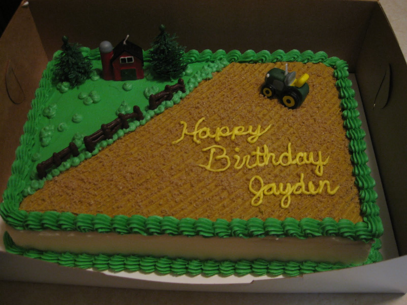 Cakes By The Sugar Cains Farm Birthday Cake