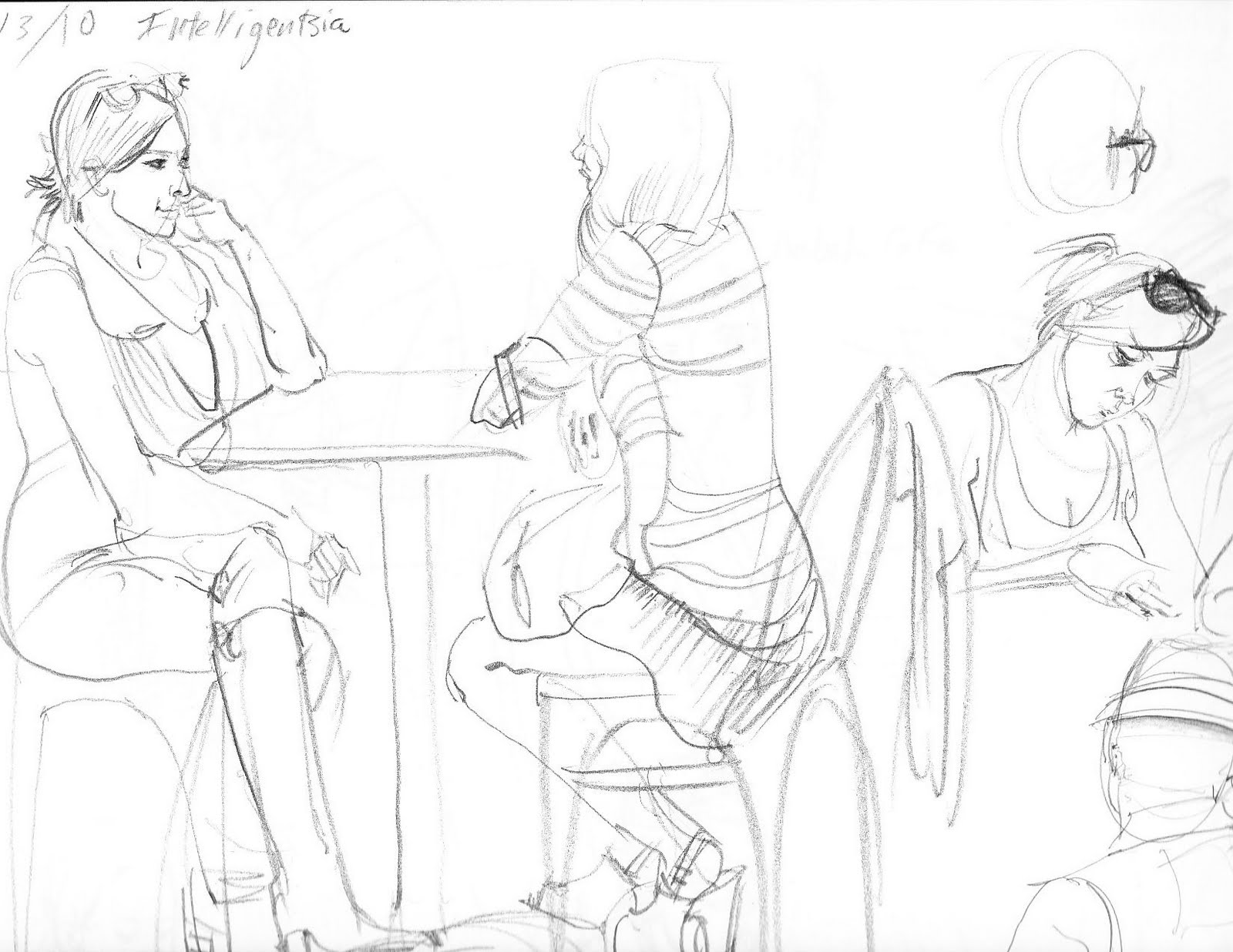Zayo Coffee Shop Drawings For The Weeks Of August 2nd