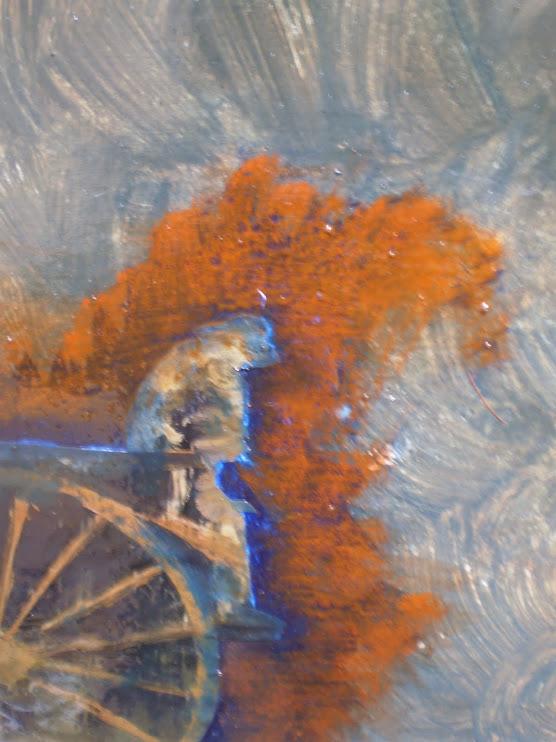 Detalle de Sol Azul